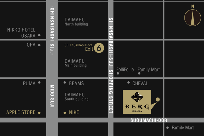 BERGmap